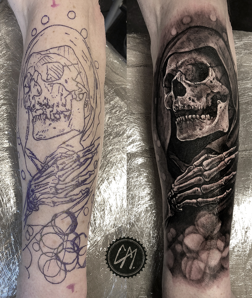 Tattoos by Craig Mackay.