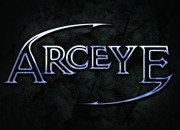 Band logo for 'Arceye'. Medium: Digital. By Craig Mackay.