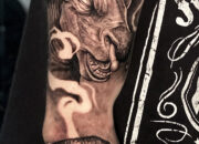 Session 3 on this sleeve. Tattoos by Craig Mackay.