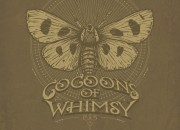 Company Logo for 'Cocoons Of Whimsy'. Medium: Pen and Ink on paper and digital. By Craig Mackay.