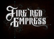Band logo for 'Fire Red Empress'. Medium: Digital. By Craig Mackay.
