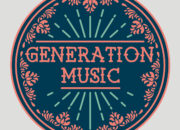 Company logo for 'Generation Music'. Medium: Digital. By Craig Mackay.