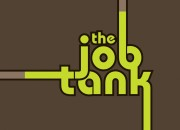Company logo for 'The Job Tank'. Medium: Digital. By Craig Mackay.