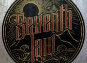 Band logo for 'Seventh Law'. Medium: Digital. By Craig Mackay.