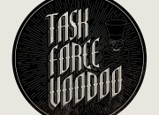 Company Logo for 'Task Force Voodoo'. Medium: Digital. By Craig Mackay.