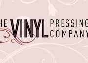 Company logo for 'The Vinyl Pressing Company'. Medium: Digital. By Craig Mackay.