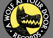 Record Company Logo for 'A Wolf At Your Door'. Medium: Acrylic paints, pen and Ink on paper and digital. By Craig Mackay.